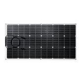 90W 18V ETFE Universal Solarpanel Batterie Ladegerät Stromladung Satz Für Camping mit Wohnmobilautobooten