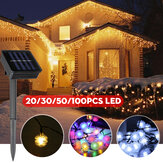20/30/50/100LED Solar String Light Ball Waterproof Fairy Lamp Garden Outdoor Party Christmas Decoration