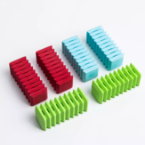 6Pcs Fizz Tearable Colorful Rubber Eraser Interesting Portable for Children School Stationery Supplies from XM
