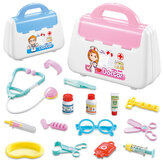 Simulazione Pretend Doctor Nurse Role Play Education Toy Set con trasporto Scatola per regalo per bambini