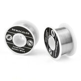 NEWACALOX 2PCS 100g 1mm Welding Iron Wire Reel Tin Lead Line FLUX 2.0% Silver Solder Wire for Soldering