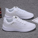 Men Mesh Breathable Lightweight Sports Casual Running Shoes