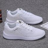 Мужская сетчатая дышащая легкая спортивная повседневная обувь для бега