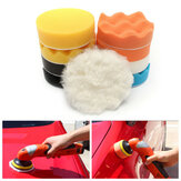 11pcs 4inch Car Sponge Polishing Tool Set Waxing Buffing Reiniging Wash stootkussen Kit