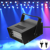 Mini 24LED Blauw Knippert Strobe Party Stage Light Disco Club DJ Effect Lighting AC220V