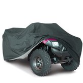 210T ضد للماء Black Dustproof Cover ATV رباعي Vehicle Scooter Motorbike M / L / XL / XXL / XXXL