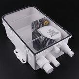 24V 750GPH 47.5 L / dak Duş Karter Suyu Pompa Çok Limanlı Deniz Bot Tahliye Sistemi Kit Bot Deniz Yat RV Kamyon Römorku için