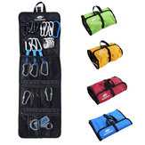 LUCKSTONE 420D Oxford Cloth Rock Climbing Safety Harness Hook Rope Hanging Storage Climbing Bags