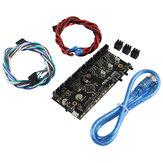 MK3 Multi Material 2.0 Actualización del tablero de control MM TMC2130 Placa base del chip MMU2 con cable de alimentación y cable de señal para las piezas de la impresora Prusa i3 3D