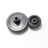 2Pcs/set Decelerate Steel Gear+Motor Gear For Wltoys 144001 RC Car Parts