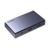 UGREEN HDMI карта видеозахвата USB C порт 3,5 мм 4K 1080P Запись в реальном времени Коробка Game HD Video Recorder CM410