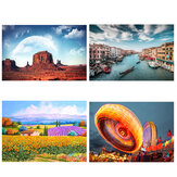 500 Piece Jigsaw Puzzle Toy DIY Assembly Paper Landscapes Puzzle Decompression Toys