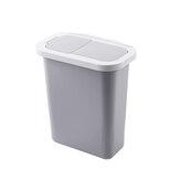 Porta de armário Pendurado Lata de Lixo com Tampa Lixeira Lixo Lixeira de Armazenamento de Lixo para o Escritório Em Casa Banheiro Cozinha