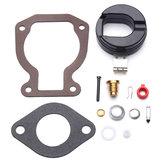 Carburetor Repair Rebuild Carb Kit w/ Float For 4-15 hp Johnson Evinrude 398453