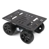 Hiwonder Aluminiumlegering Vierwielige Smart Car Chassis Motor Reductieverhouding 1: 120 voor concurrentie