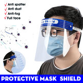 10 Pieces Protective Mask New Adjustment Stretch Protective mask HD PET Anti-Fog Protective Mask