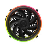 DarkFlash Shadow RGB PWM CPU Cooling Fan Motherboard Control Cooler Motherboard Sync for Intel Core i7/i5/i3