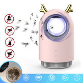 USB Electric Mosquito Killer Trap Lamp LED Insect Repellent Light Bug Zapper voor Home Camping