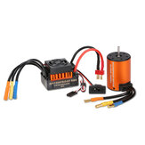 Superar Passatempo À Prova D 'Água 3650 3900KV Brushless RC Motor Do Carro Com 60A ESC Set Para 1/10 RC Car