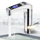 220V LED Electric Instant Water Heater Faucet Home Bathroom Kitchen Mixer Tap