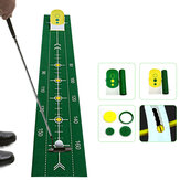 Folding Golf Mat Golf Putting Ball Training Aid Swing Trainer Golf Accessories Golf Training Accessories