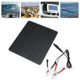 20W 12V solpanel til telefon batterioplader RV båd camping 5V USB 2.0 port