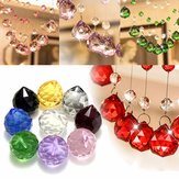 40mm Chandelier Kristal Hanging Faceted Bola Prism Drop untuk Pendant Light