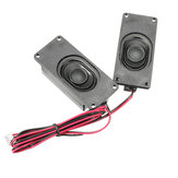 5 Pair 4 Ohm 3W LCD Panel Speaker Amplifier Audio Frequency Output For V29 / V56 / V59
