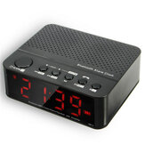 LEADSTAR Wireless Alarm Clock Mini bluetooth Speaker With Card Play FM Radio
