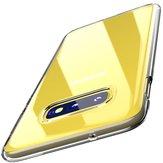 BakeeyprzezroczystyfuterałochronnydoSamsung Galaxy S10e 5.8 calowy przezroczysty Soft TPU Tylnapokrywa