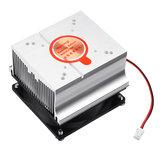 DC12V Alumínio Dissipador De Calor Ventilador de Refrigeração para 20 W 30 W 50 W 60 W de Alta Potência DIY LED Lâmpada