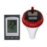 Float Solar Sensör Havuz Termometre Kablosuz Yüzme Suyu Sıcaklığı Alıcı