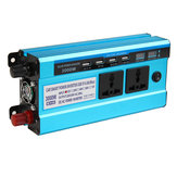 3000W Dual Display Peak Solar Power Inverter Modified Sine Wave Inverter 12V24V48V Power Converter