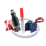 12V 40W V6 J-head Hotend Extruder Nozzle Kit with Cooling Fan/Teflon Tube/Drill Bits 0.4mm 1.75mm Nozzle