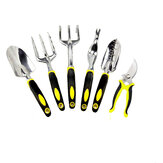 Gardening Six Piece Garden tools Set Aluminum Alloy Tools Two Color Handle