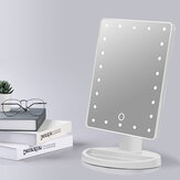 Dimming Creative Desktop Led Vanity Mirror with lamp