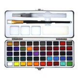 Seamiart 50 Colors Watercolor Paint Set Portable Painting Watercolor Pigment for Beginner Art Drawing Supplies