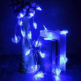 20 Blue LED Bats Light Halloween Party Decration Lights