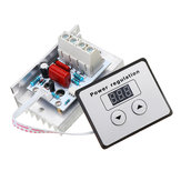 AC 220V 10000W 80A Digital Control SCR Electronic Voltage Regulator Speed Control Dimmer Thermostat With Digital Meters
