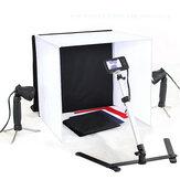50x50cm chambre photo studio lumière photographie éclairage kit de tente toile de fond Cube boîte