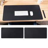 Double-side Portable Large Mouse Pad Gamer Waterproof PU Leather Suede Desk Mat Computer Mousepad Keyboard Table Cover