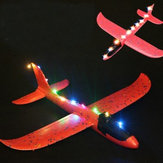 5PCS luce a led Per Epp Hand Launch Throwing Plane Toy DIY Modified Parts Colore casuale