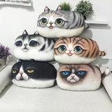 Giocattoli cuscino peluche schienale stampa cuscino regalo di compleanno di trucco creativo 3d pp cotone del gatto di