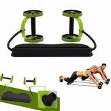 Ruedas de ejercicios abdominales Rodillo Estiramiento Elástico Abdominal Pull Cuerda Entrenador de músculos abdominales Inicio Aptitud Equipo