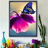 5D Bufferfly Diamond Painting Embroidery Cross Stitch Home Wall Decor Craft