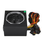 700W PC Alimentation PC Gaming 24 broches PCI ATX SATA LED Ventilateur de refroidissement