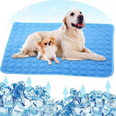 Cooling Pet Mat Bed Dogs Cat House Cool Silk Mattress Ice Pad Blanket for Small  Puppy Animal