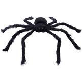 230 CM Cadılar Bayramı Dev Örümcek Siyah Soft Outdoor Yard ve İç Dekorasyon için Tüylü Korkunç Örümcek Oyuncak