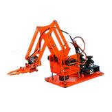 DIY Colorful Mechaniczny zestaw ramienia robota z kontrolerem podczerwieni Metalowe serwo dla