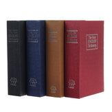 Książka symulacyjna Safe Secret English Dictionary Sejf Blokada hasła Pieniądze Gotówka Pudełko na biżuterię Materiały do przechowywania